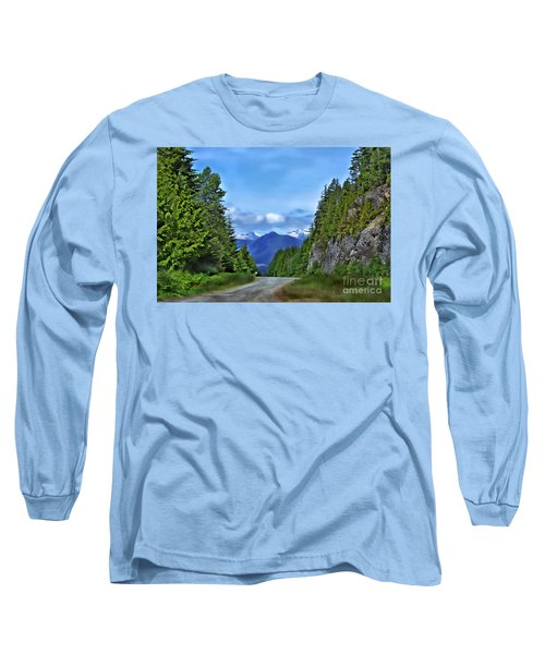 Follow The Road Long Sleeve T-Shirt