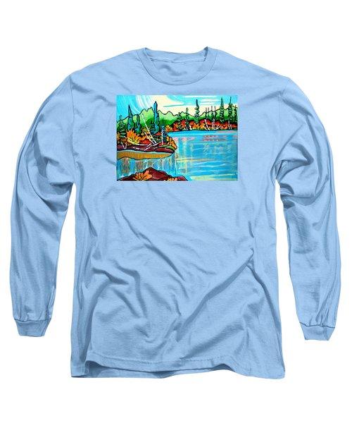 Forgotten Lake Long Sleeve T-Shirt