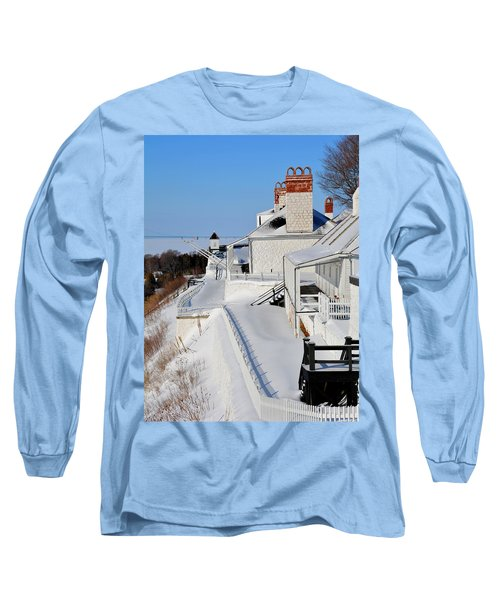 Fort Mackinac Profile Long Sleeve T-Shirt