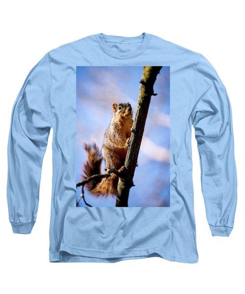 Fox Squirrel's Last Look Long Sleeve T-Shirt