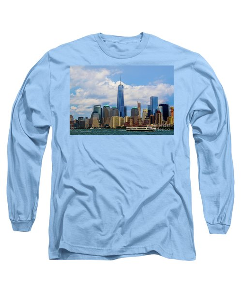 Freedom Tower Nyc Long Sleeve T-Shirt