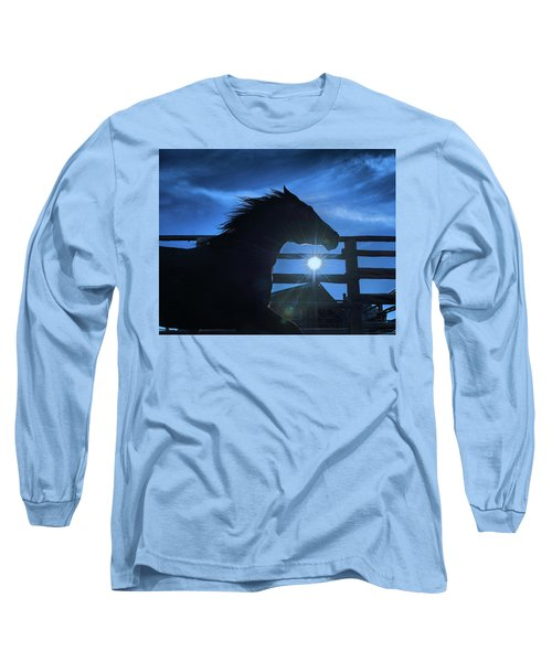 Free Spirit Horse Long Sleeve T-Shirt