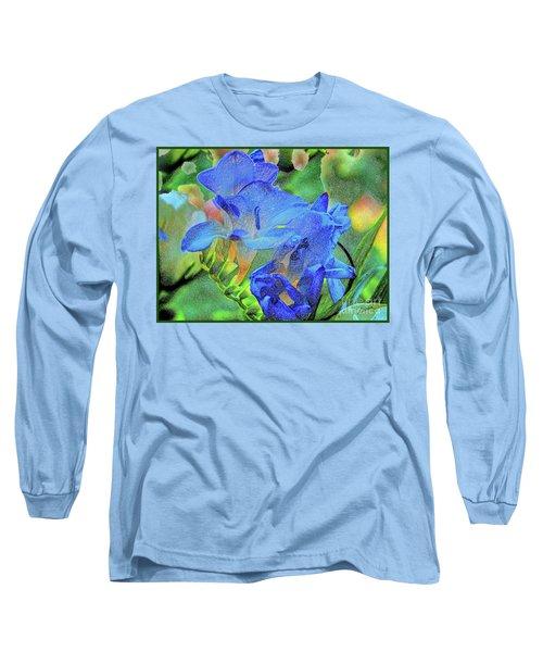 Freesia's Of Beauty Long Sleeve T-Shirt