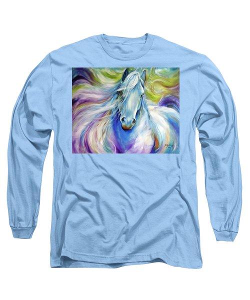 Freisian Dreamscape Long Sleeve T-Shirt by Marcia Baldwin