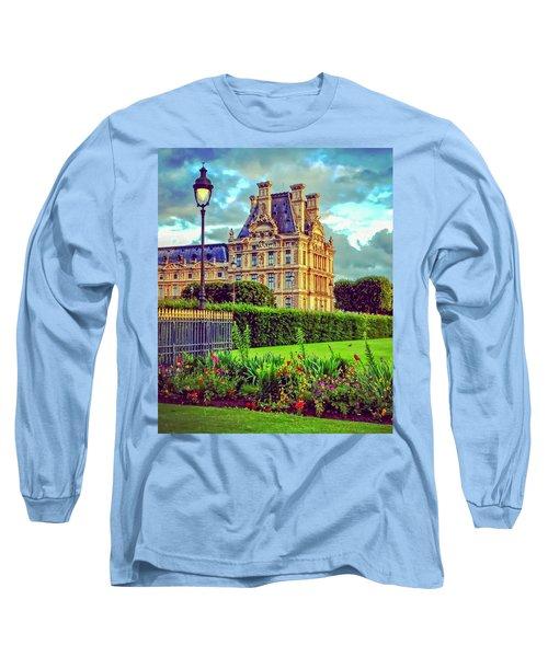 French Garden Long Sleeve T-Shirt