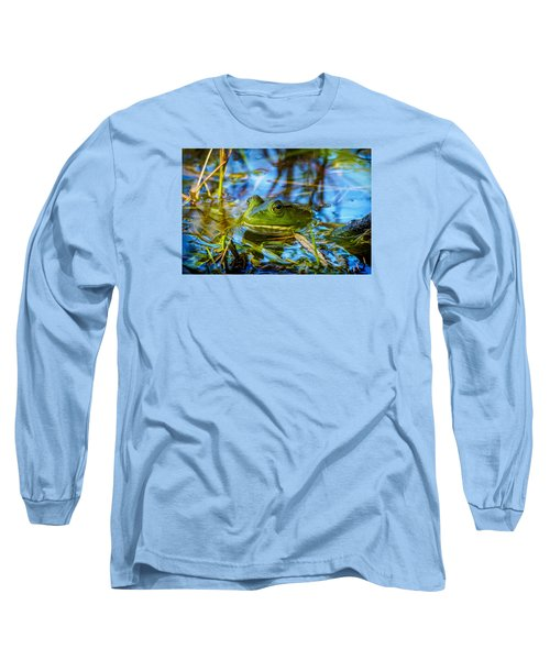 Frog In My Pond Long Sleeve T-Shirt