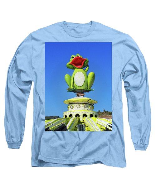 Froggy Long Sleeve T-Shirt by Don Pedro De Gracia