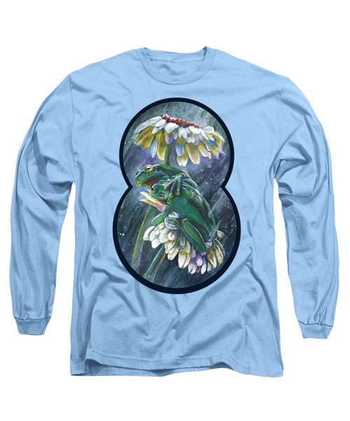 Frogs- Optimized For Shirts And Bags Long Sleeve T-Shirt