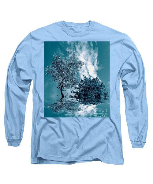 Frollicking Long Sleeve T-Shirt by Elfriede Fulda