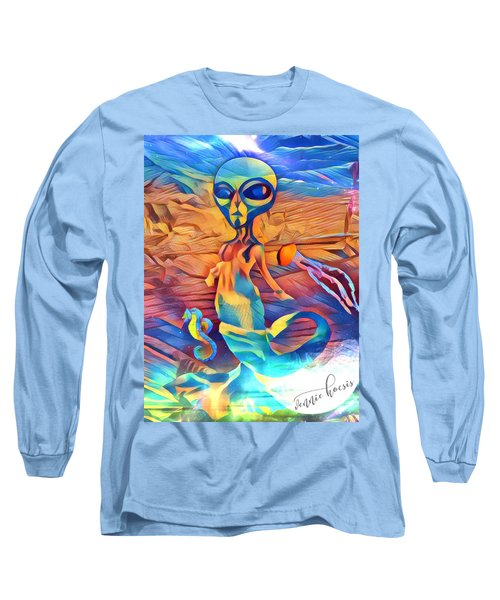 From A World Inside Of Another Long Sleeve T-Shirt by Vennie Kocsis