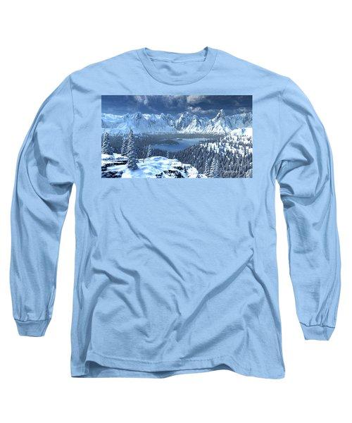 From An Open Sleigh Long Sleeve T-Shirt