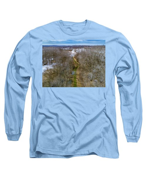 From Woods To Snow Long Sleeve T-Shirt