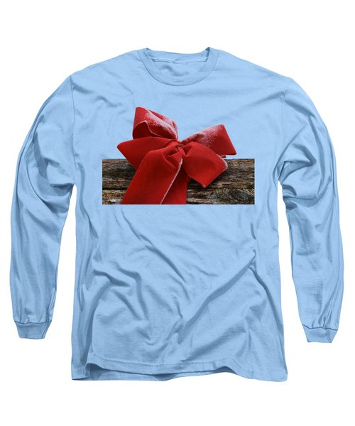 Frosted Bow Long Sleeve T-Shirt