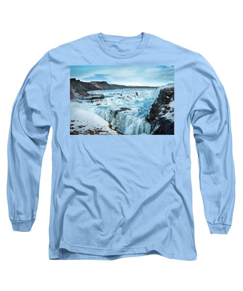 Frozen Gullfoss Long Sleeve T-Shirt