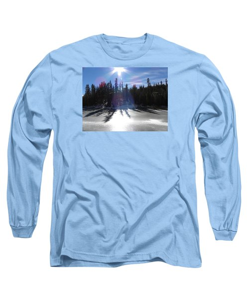 Sun Reflecting Kiddie Pond Divide Co Long Sleeve T-Shirt