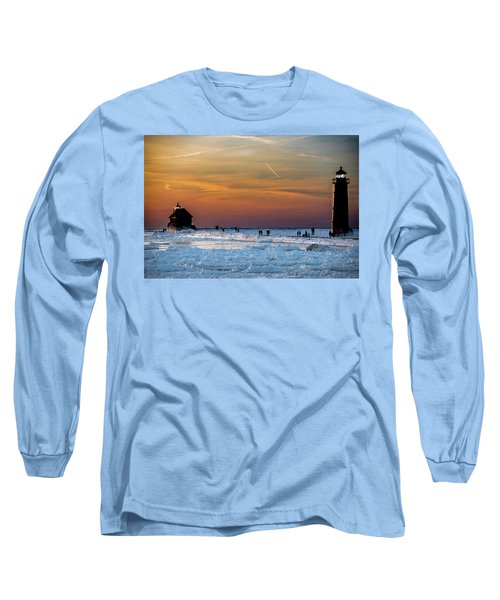 Frozen Lighthouse Long Sleeve T-Shirt
