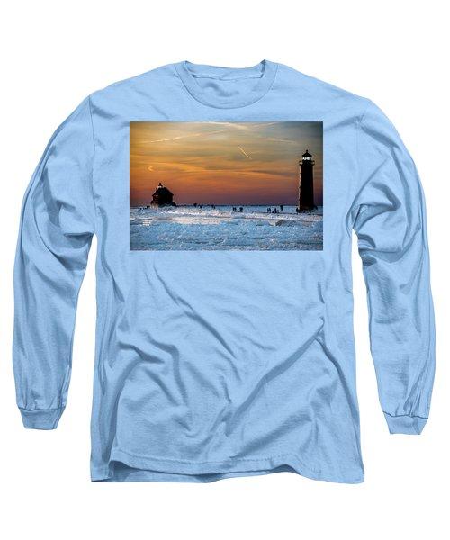 Frozen Lighthouse Long Sleeve T-Shirt