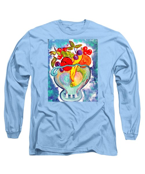 Fruit Bowl Long Sleeve T-Shirt