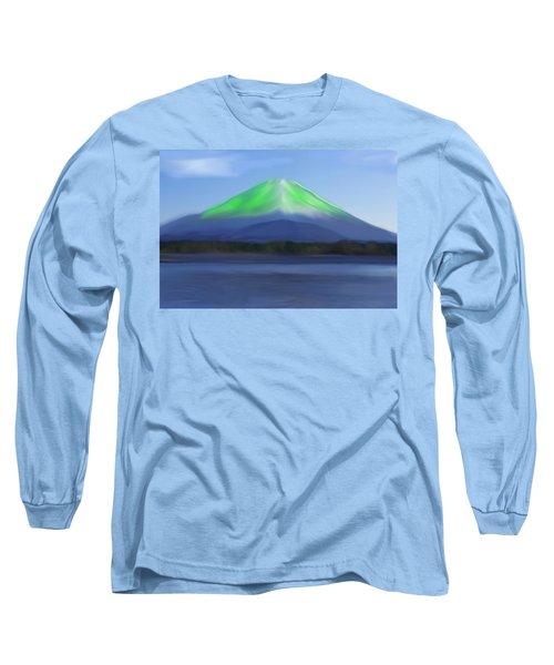Fuji Long Sleeve T-Shirt by Thomas M Pikolin
