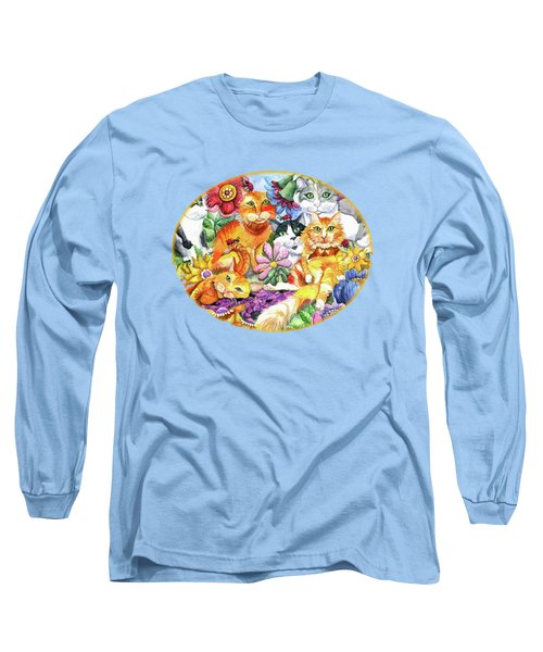 Garden Party Long Sleeve T-Shirt by Shelley Wallace Ylst