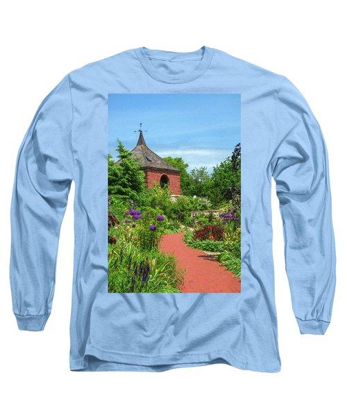 Garden Path Long Sleeve T-Shirt by Trey Foerster