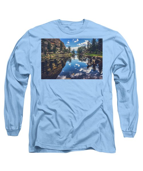 Gem Lake Reflections Long Sleeve T-Shirt