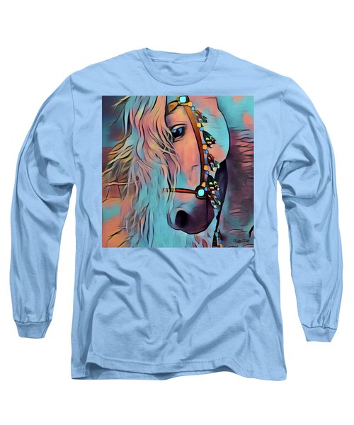 Gentle Giant Long Sleeve T-Shirt by Kathy Kelly
