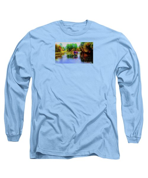 Get Your Own Cream Long Sleeve T-Shirt by Mike Breau