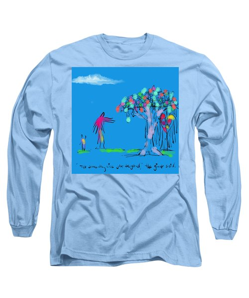Giant, Boy, And Doorway Long Sleeve T-Shirt
