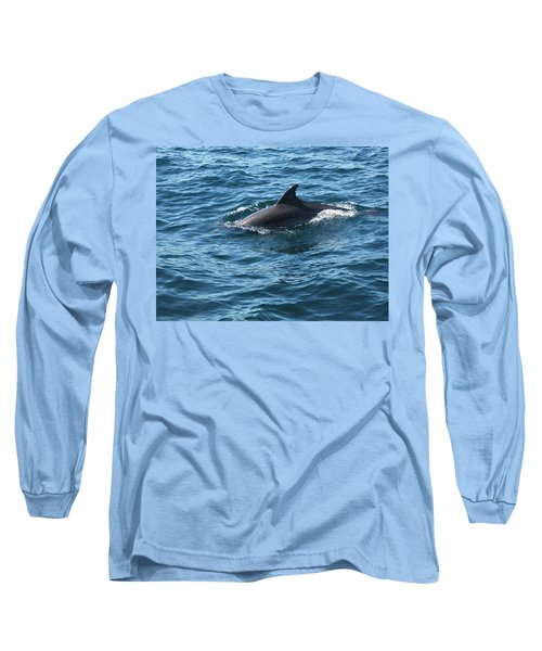 Gibraltar Dolphin  Long Sleeve T-Shirt