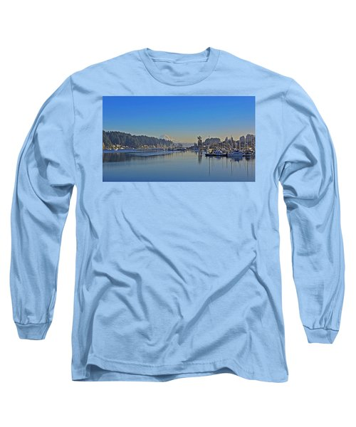 Long Sleeve T-Shirt featuring the photograph Gig Harbor, Wa by Jack Moskovita