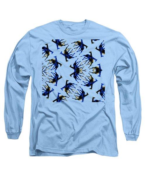 Giraffe Abstract Long Sleeve T-Shirt