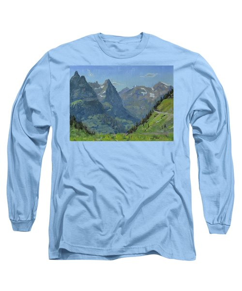 Glacier Afternoon Long Sleeve T-Shirt