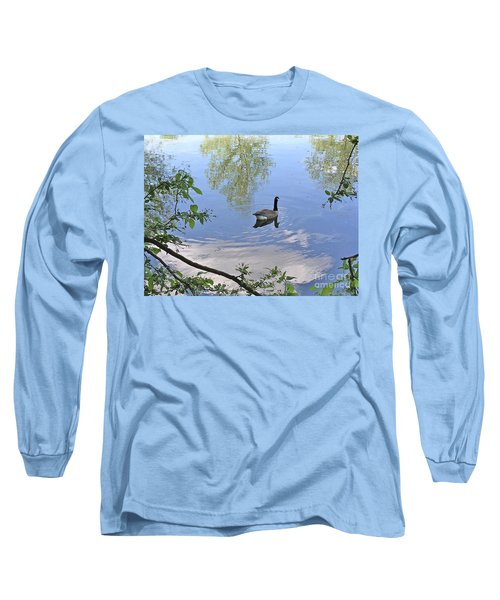 Gliding Goose Long Sleeve T-Shirt