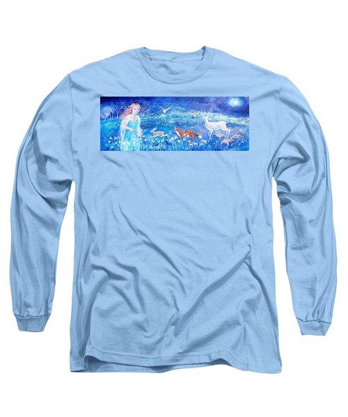 Glimmering Girl Long Sleeve T-Shirt