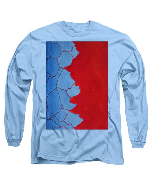 Glitch In The Matrix Original Painting Long Sleeve T-Shirt