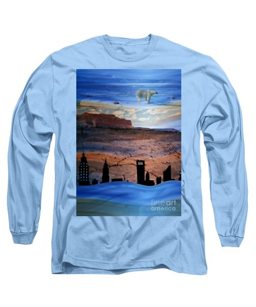 Global Care Be Aware Long Sleeve T-Shirt