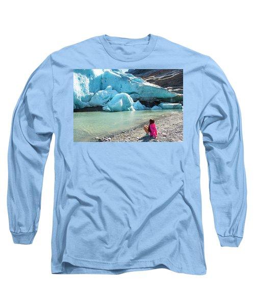Global Warming Long Sleeve T-Shirt by Tamara Sushko