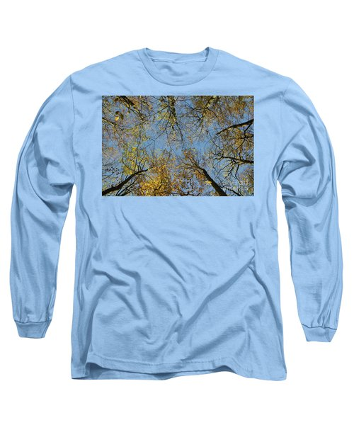 Long Sleeve T-Shirt featuring the photograph Glorious Tree Tops by Kennerth and Birgitta Kullman
