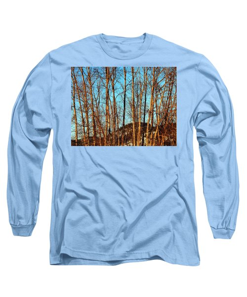 Glow Of The Setting Sun Long Sleeve T-Shirt by Will Borden