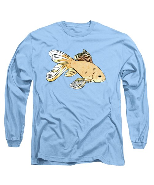 Glum Goldfish Long Sleeve T-Shirt