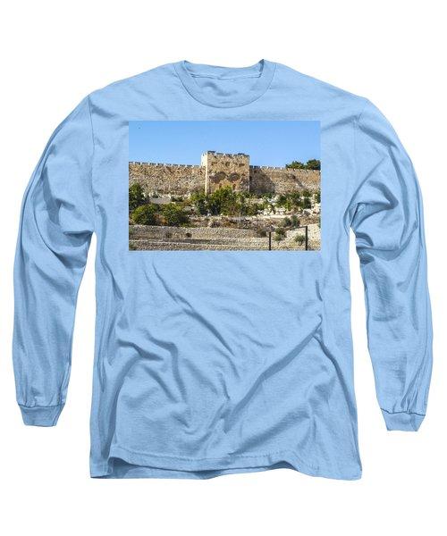 Golden Gate Jerusalem Israel Long Sleeve T-Shirt
