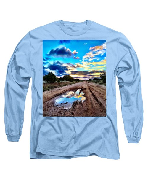 Golden Hour Pool Long Sleeve T-Shirt