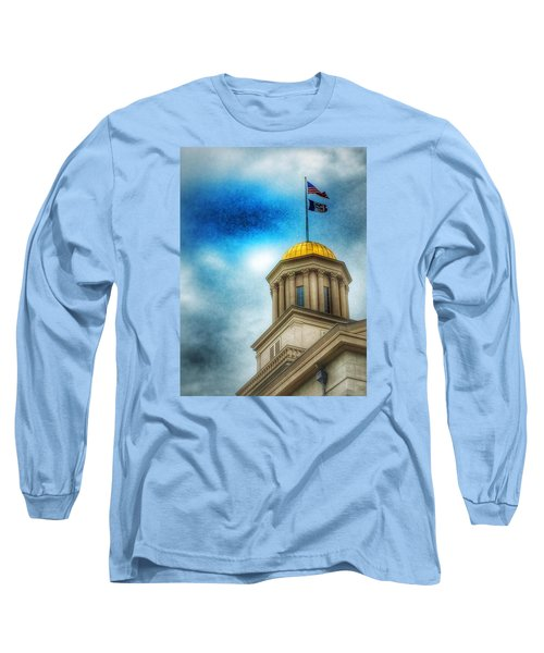 Golden Shine Long Sleeve T-Shirt by Jame Hayes