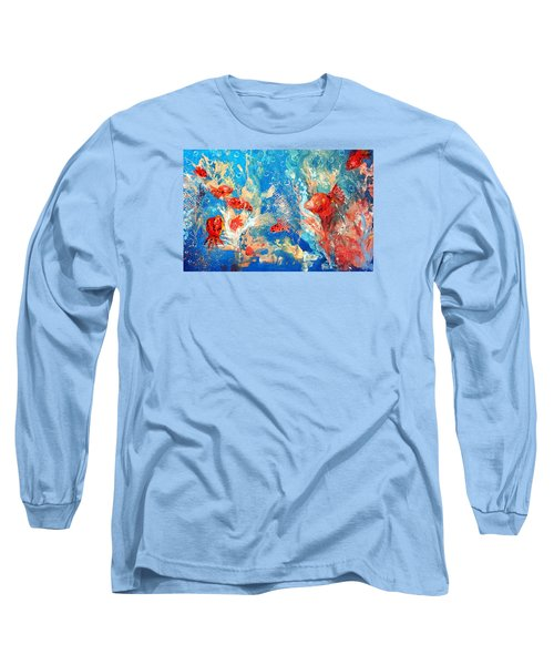 Goldfish Party Long Sleeve T-Shirt