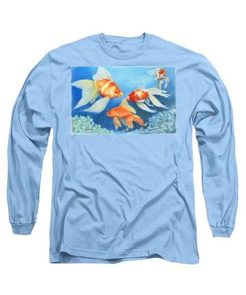 Goldfish Tank Long Sleeve T-Shirt