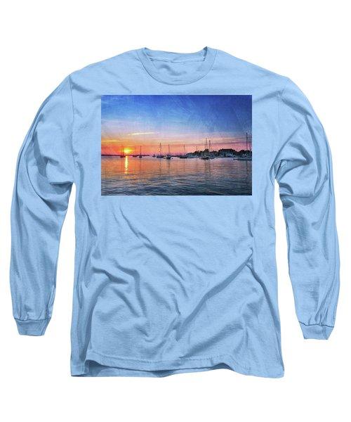 Good Morning Long Sleeve T-Shirt by Edward Kreis