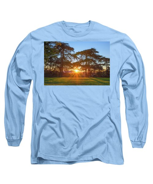 Good Morning, Good Morning Long Sleeve T-Shirt by Joseph S Giacalone