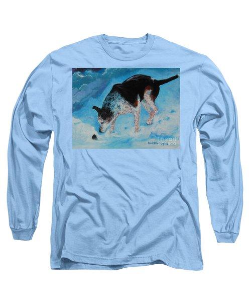 Goofie Long Sleeve T-Shirt by Dan Whittemore