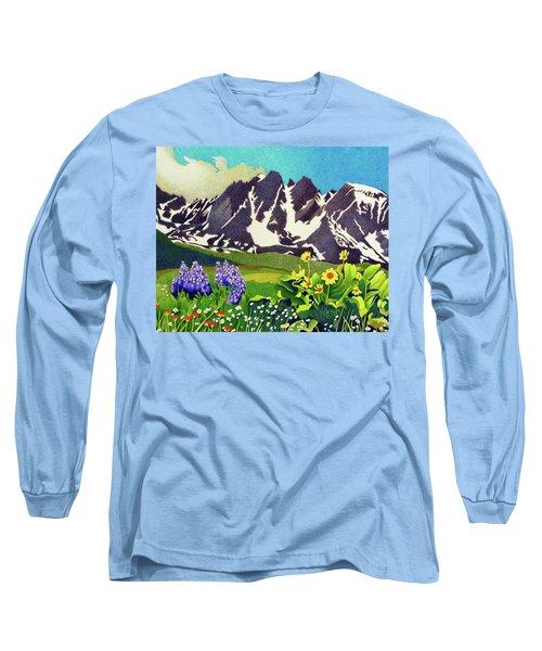 Gore Range Wildflowers Long Sleeve T-Shirt